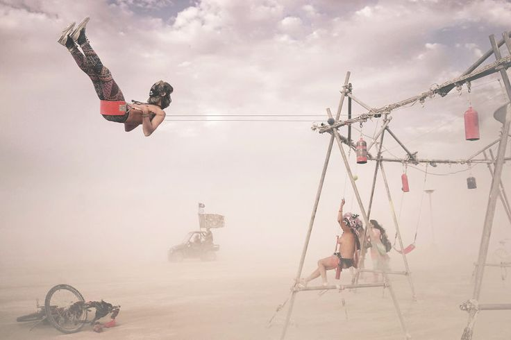Last Year's Burning Man Festival Through My Eyes | Bored Panda