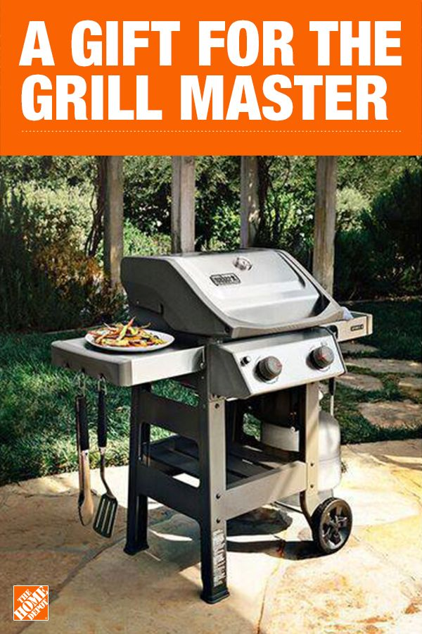 Every Dad Deserves A Weber This Stainless Steel Grill Is Exclusive To The Home Depot And Built With The Powerful G Grill Master Grilling Stainless Steel Grill