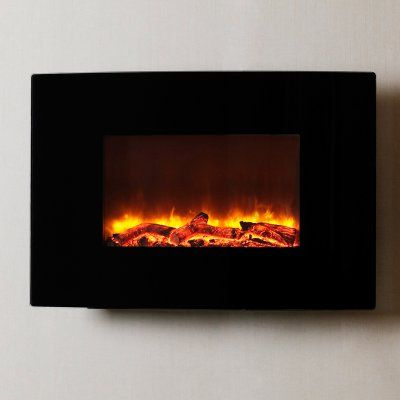 Best 25 contemporary electric fireplace ideas on pinterest - Contemporary wall mount fireplace ...