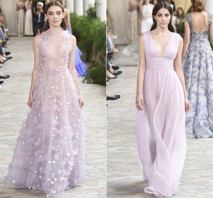 Нежно розовые вечерние платья от Luisa Beccaria Весна-Лето 2017 Ready to wear