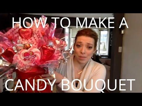 DIY - How To Make Edible Hershey Kisses Rose Bouquet - Valentine's Day - YouTube
