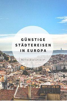 Günstige Städtereisen in Europa