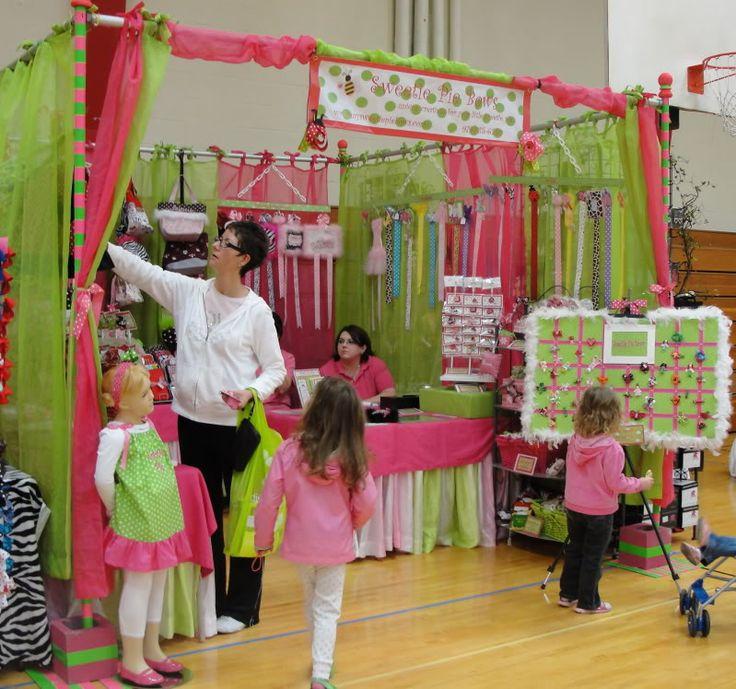 Craft show fair booth idea
