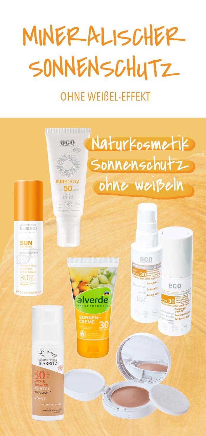 Naturkosmetik Sonnenschutz Ohne Weißeln Naturkosmetik