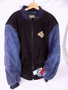 RARE Super Bowl XXXV 2001 G-III & Carl Banks Bomber Jacket size XL