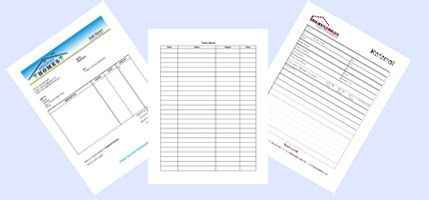Organized Assistant forms for the Professional Organizer