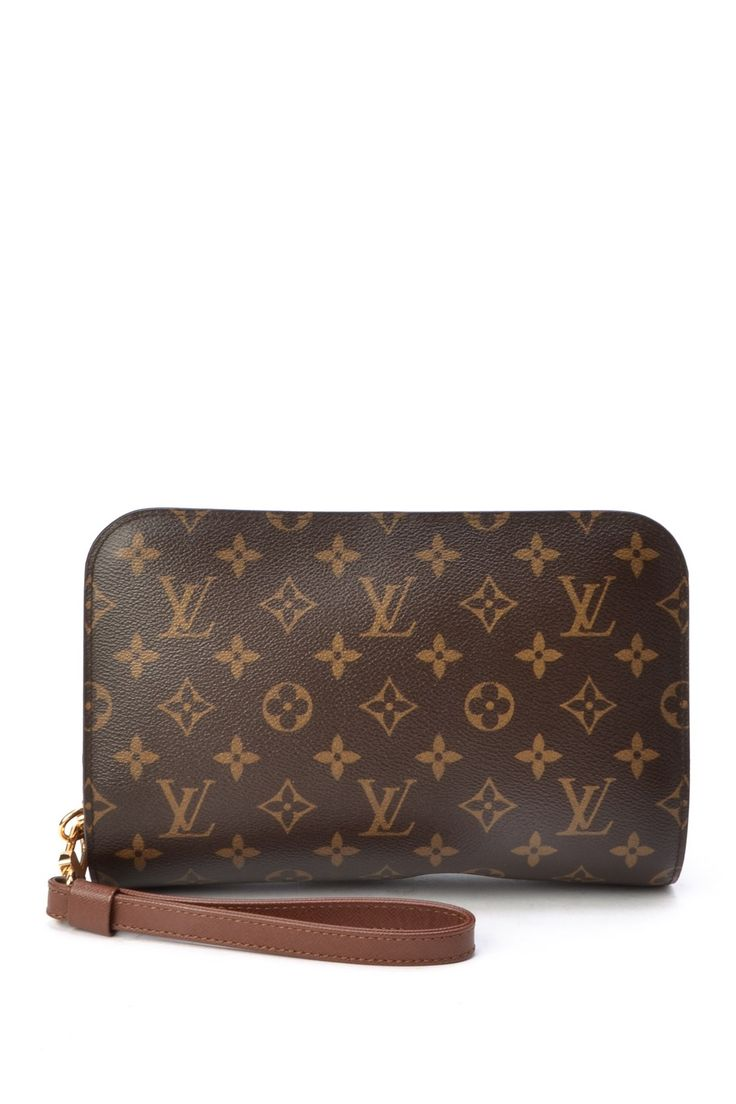 Vintage Louis Vuitton Leather Orsay Wristlet on HauteLook