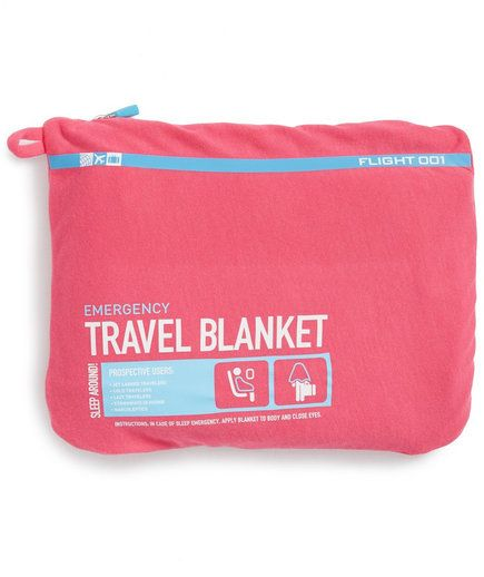 Blanket | These first-class items will make your next trip a little bit more comfortable.