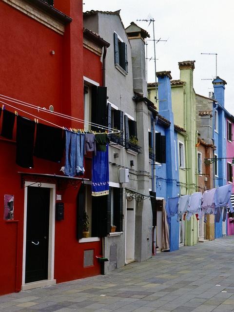 Burano Venedig by kgebinger, via Flickr