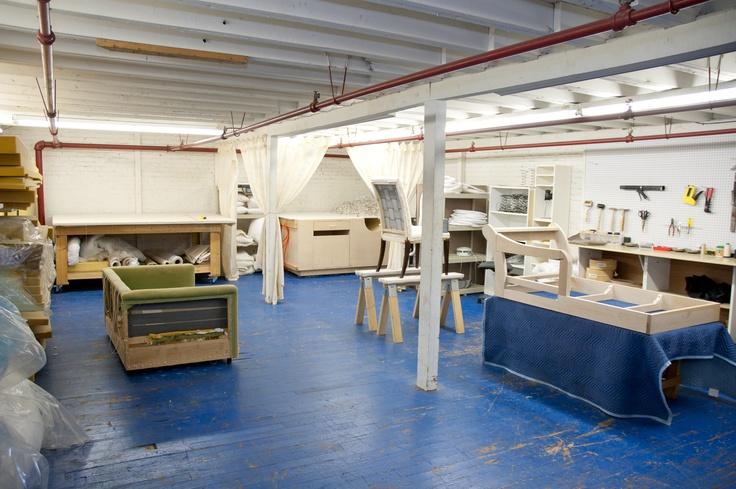 Upholstery Shop Set Up Garage Design Furniture