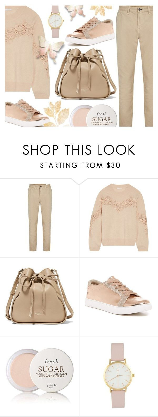 """Pretty Pink"" by ana3blue on Polyvore featuring rag & bone, Chloé, Nina Ricci, Kenneth Cole Reaction and Fresh"