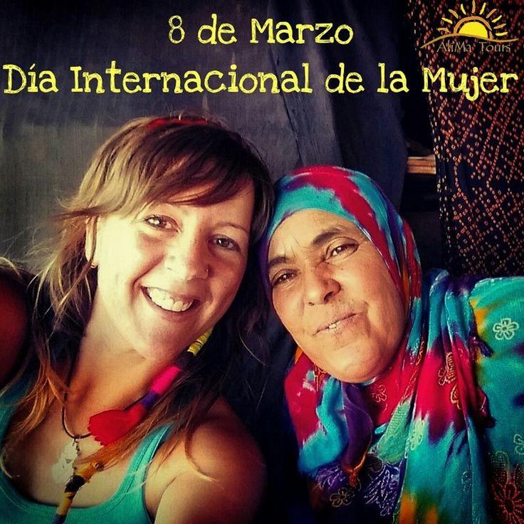 Nacionalidad, cultura, religión... no importa, porque somos todas iguales, somos mujeres. Por un mundo de respeto, igualdad y nuevas oportunidades. Feliz día a todas las mujeres del mundo! Nacionality, culture, religion... no matter, because we are all women. For a world of respect, equality and new opportunities. Happy international women's day! #alimatours #africa#womenday #mujer #woman #marruecos #morocco #travel #culture