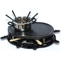 @Overstock - This Total Chef eight-person raclette party grill with a fondue gives you the cooking power of a grill, fondue, and raclette in one appliance. This party grill is ideal for keeping guests entertained and full of delicious foods. http://www.overstock.com/Home-Garden/Total-Chef-TCRF08BN-8-person-Raclette-Party-Grill-and-Fondue-Set-with-8-Small-Pans/5393216/product.html?CID=214117 $91.04