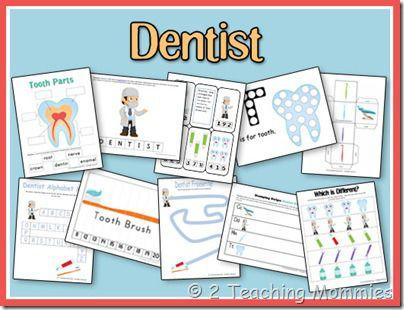 Dentist Preschool Unit