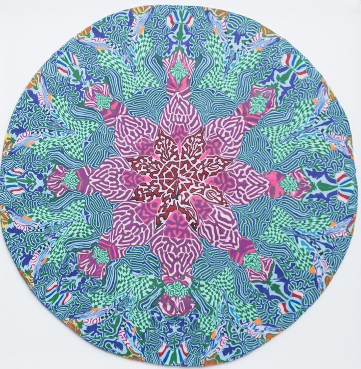 Magdalena Atria  Sin Título 7, Plasticina, 41 x 41 cm