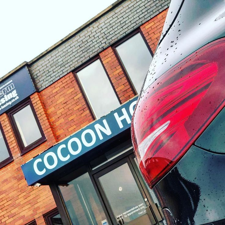 Another Mercedes Hybrid leaving Cocoon HQ #hybridcar