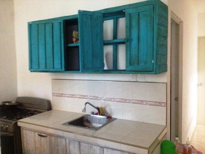 Kitchen Cabinets From Pallets 18 best images about wood pallets on pinterest | crafts, pallet
