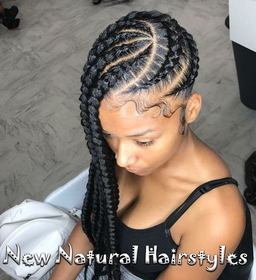 10 Lovely Braided Hairstyles For Black Women To Wear New Natural Hairstyles Braids Braided Hai Geflochtene Frisuren Naturliche Frisuren Flechtfrisuren
