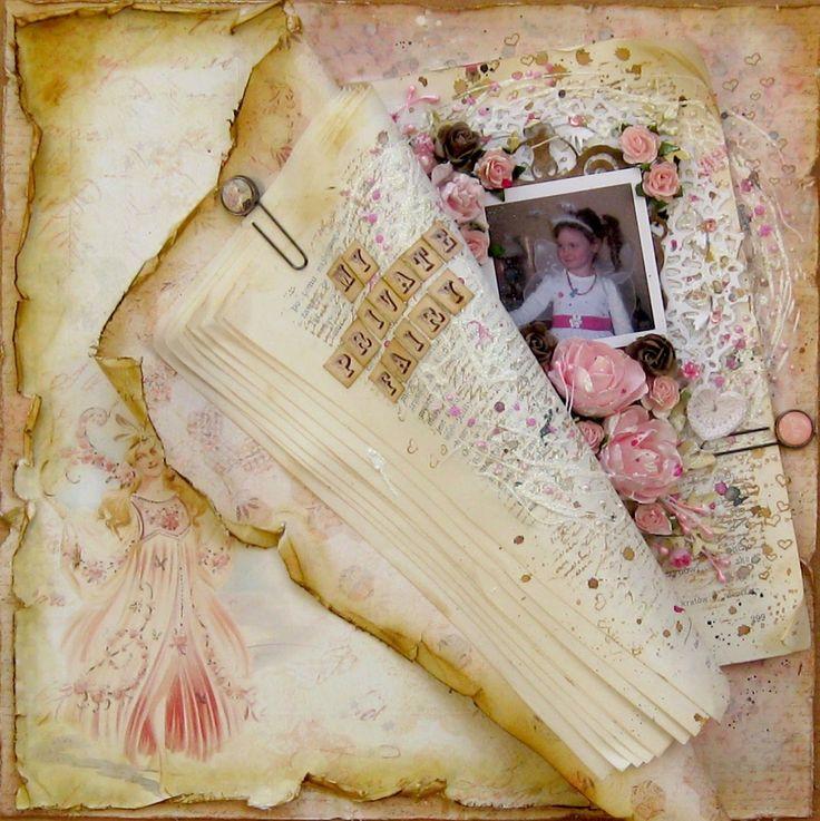 #Prima #scrapbooking #fairy
