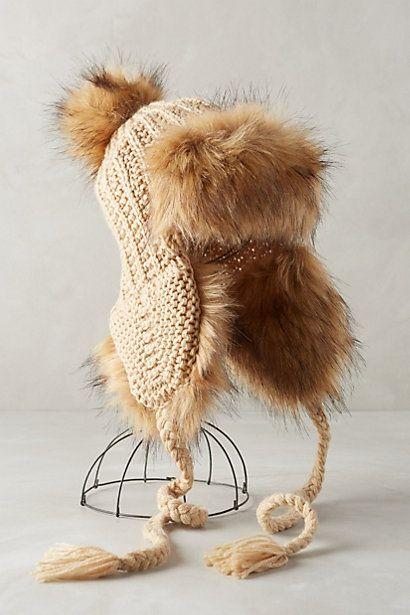marsaili trapper hat #winterwarmer #anthrofave