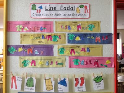 Junior and Senior Infants Blog: We love Gaeilge!!