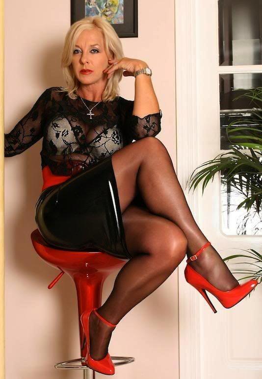 Фетиш зрелая женщина