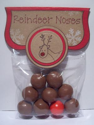 I've finally got round to photographing some of the items I've made for my Christmas Craft Stall. Here is the first, my Reindeer Noses. I fi...