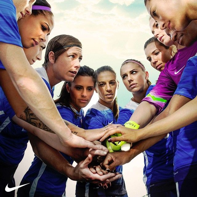 """""""Together, we are motivated, focused and determined to succeed in our new Away Kit for the WWC this Summer! Get yours now, only in the @nikesoccer App:…"""""""
