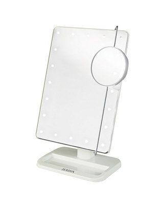Die Jerdon JS811W 8 'x 11 tragbare LED beleuchtete Kosmetikspiegel Bettwäsche
