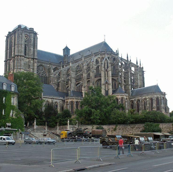Le Mans Cathedral, Le Mans, Pays de la Loire