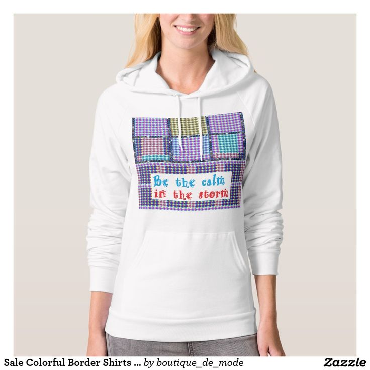 Sale Colorful Border Shirts Wisdom Quote Words