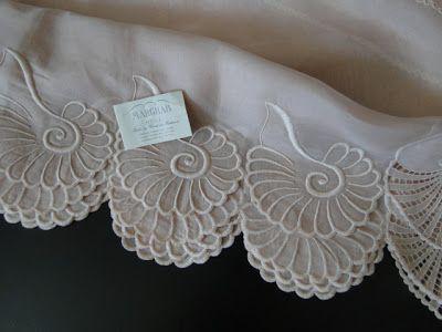 Buyer & Seller of Antique Lace, Fine Linens, Vintage Clothing, Haute Couture, Textiles, Fans: Antique Linens-Marghab
