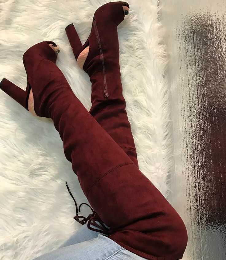 Cut Out Chunky Thigh High Boots