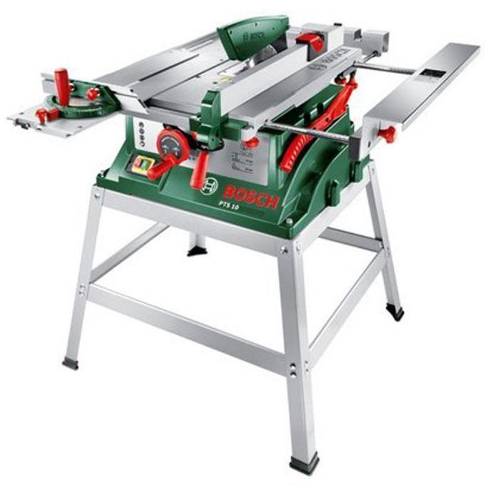 Bosch Scie Sur Table Pts10t 1400w Socle Scie Sur Table Scie Bosch