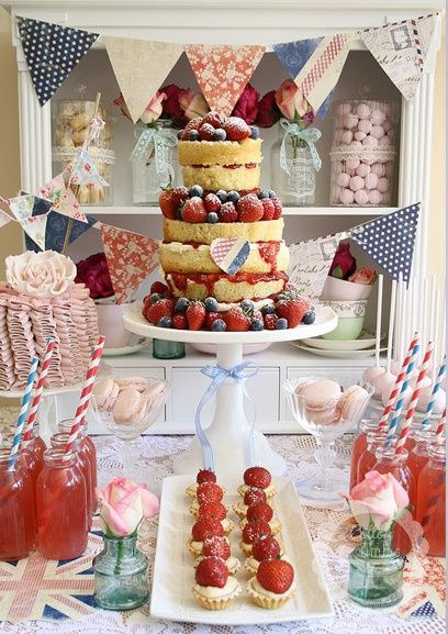 Could we make something like this cake? I could bring jam jars for drinks?
