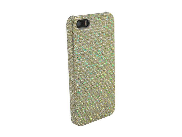 Glitter case iPhone 5 & 5S goud