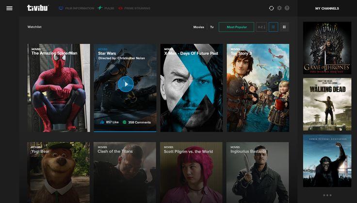 Tivibu tivi redesign watching page