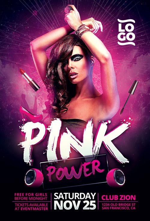 Best Club And Party Flyer Images On