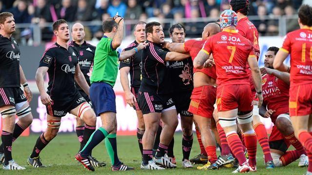 15e journée Top 14 - Un jour cinq images: Slimani n\'a pas baissé les yeux-Rugby-Top 14