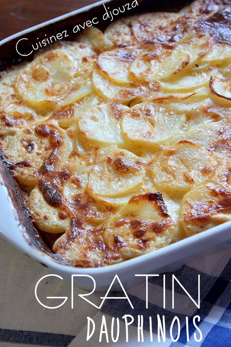 Gratin dauphinois recette traditionnelle