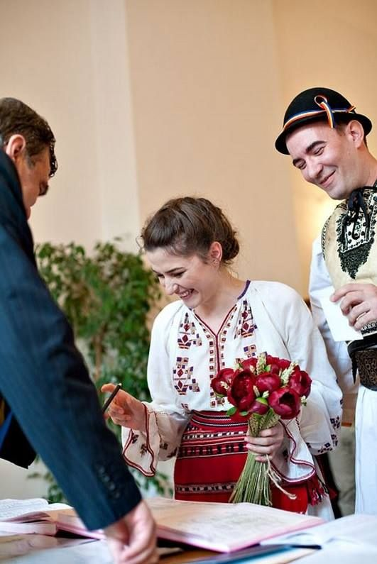 The Romanian traditional Wedding