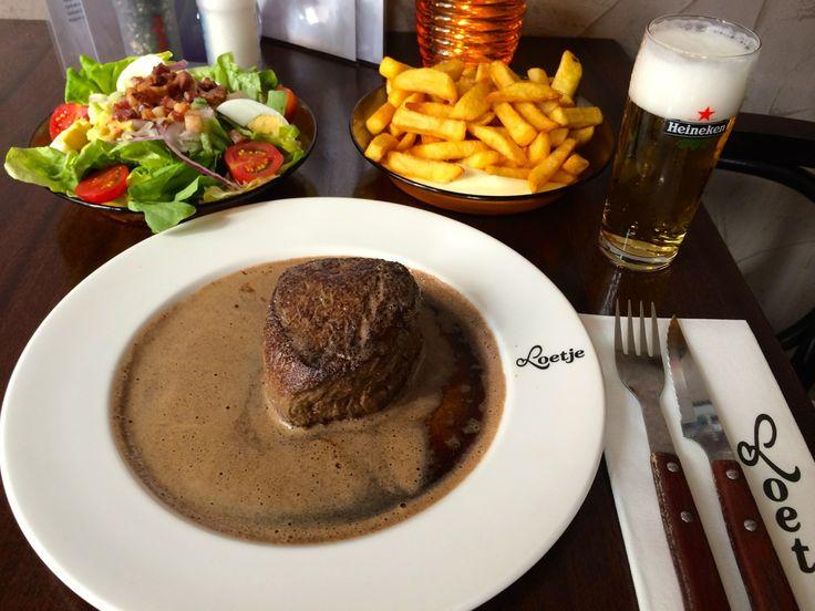 #steak Loetje Bergen
