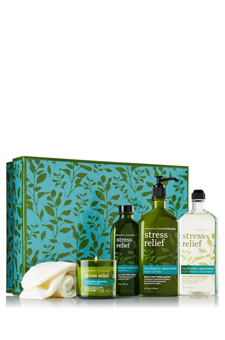 Eucalyptus Spearmint Aromatherapy Large Gift Box - Aromatherapy - Bath & Body Works