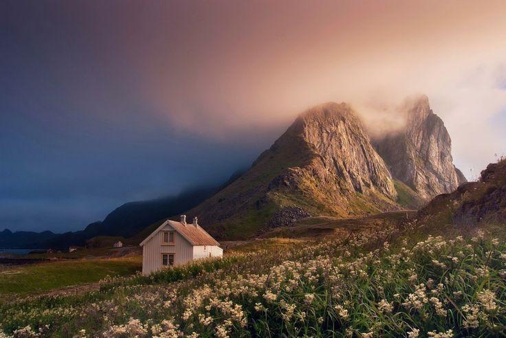 Остров Ваерой, Лофотенские острова, Северная Норвегия