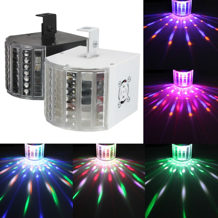Smuxi 18W LED Butterfly Stage Light DMX512 RGBW Indoor LED Stage Lights Disco Party DJ Projector Light