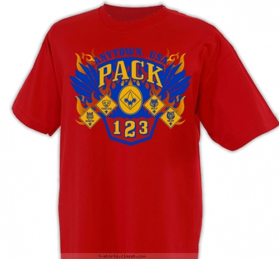 17 Best Images About Cub Scout™ Pack T-Shirt Design Ideas On