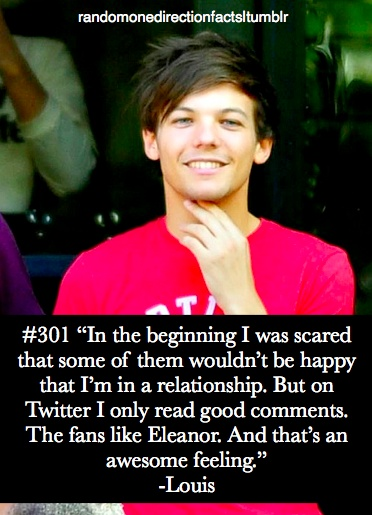 lies. i hate to say it, but half the population of directioners hate eleanor with a passion... its horrible and drives me nuts, i dont want elouner to break up too