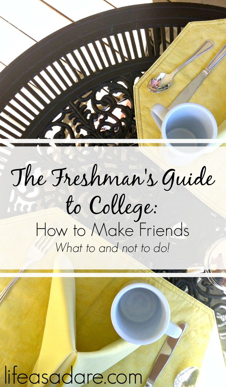 Making friends in college can be really tough at times. Don't fear, though--there are definitely things you can do to make it easier! Here are some of my tips and tricks to making friends in college! Read the rest at lifeasadare.com