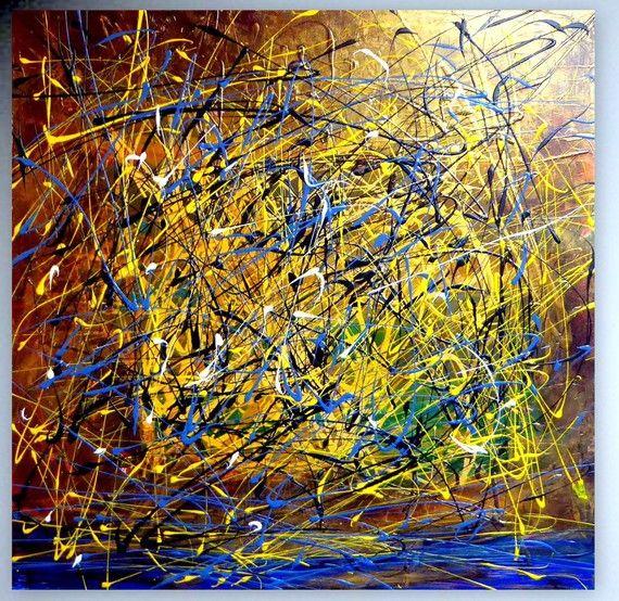 Galerie abstrakt fine art abstrakte gem lde bilder - Abstrakte wandbilder ...