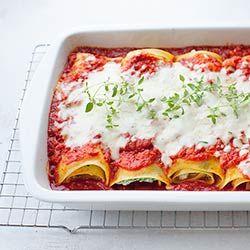 Roladki lasagne z cukinią, szpinakiem i ricottą   Blog   Kwestia Smaku